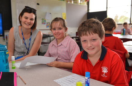 page programs, newington primary school